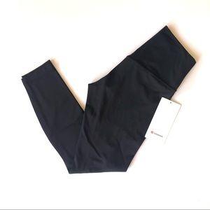 """New Lululemon 25"""" Black Align Leggings Size 6"""